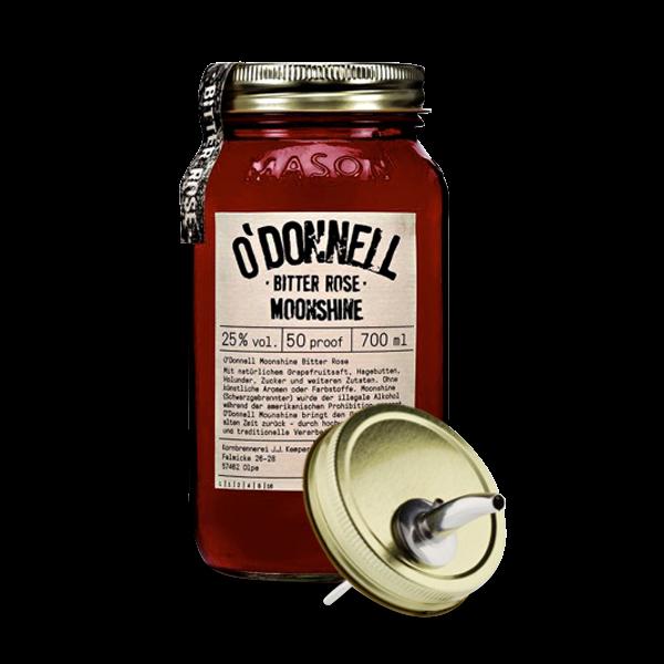 O'Donnell Moonshine - Bitter Rose inkl. Ausgießer