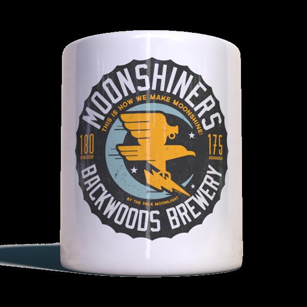 "Moonshiners Becher ""Backwoods Brewery"""