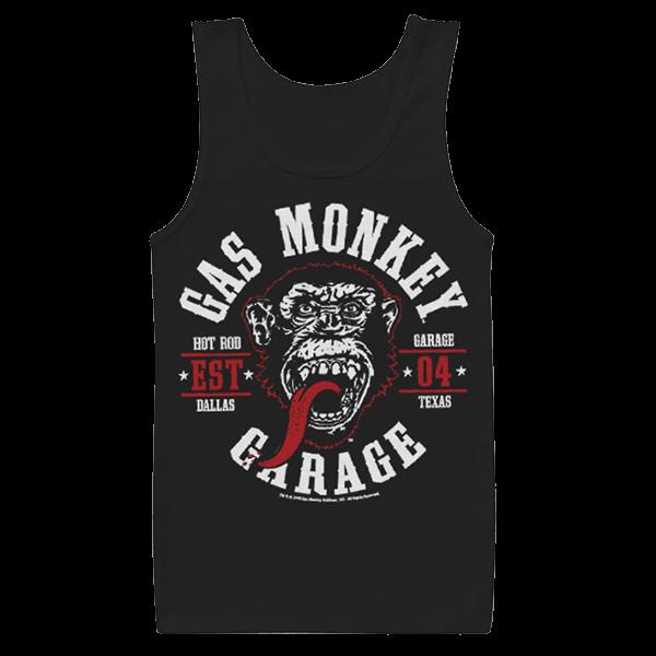 "Gas Monkey Garage Tank Top ""Round Seal"""