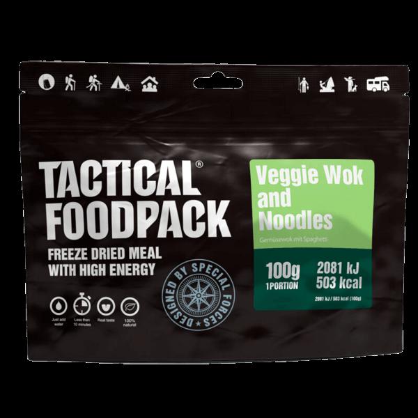 "Tactical Foodpack ""Gemüsewok mit Spaghetti"""