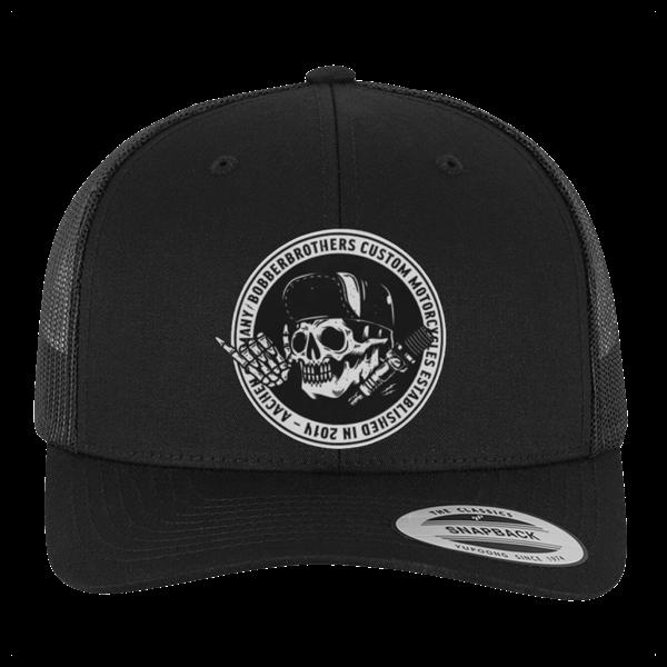 """Trucker-Cap """"Round Logo"""" von Bobber Brothers"""