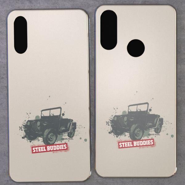 """Steel Buddies Cover """"Jeep"""" für Huawei Y Modelle"""
