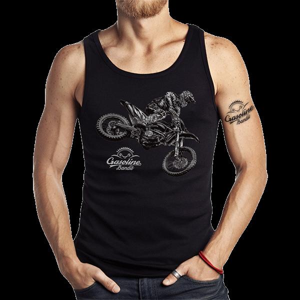 """Tank Top """"Cross Rider"""" von Gasoline Bandit"""