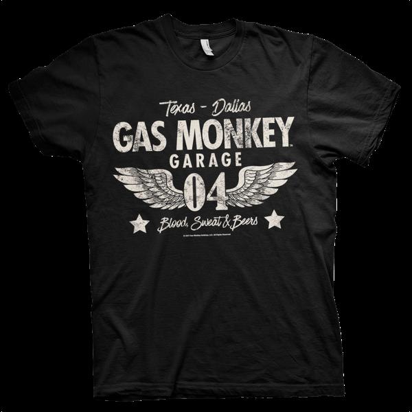 "Gas Monkey Garage T-Shirt ""Texas - Dallas"""