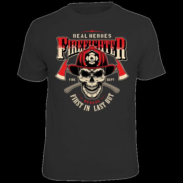 """T-Shirt """"Firefighter"""""""