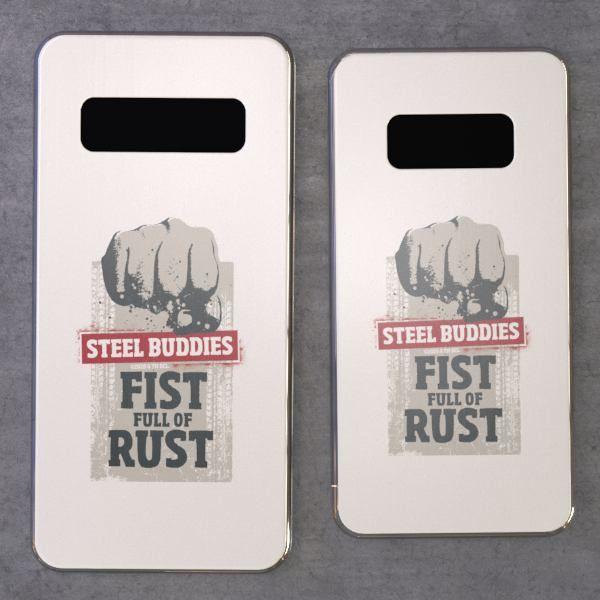 """Steel Buddies Cover """"Fist Full"""" für Galaxy S Modelle"""