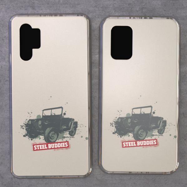 """Steel Buddies Cover """"Jeep"""" für Samsung Galaxy Note Modelle"""