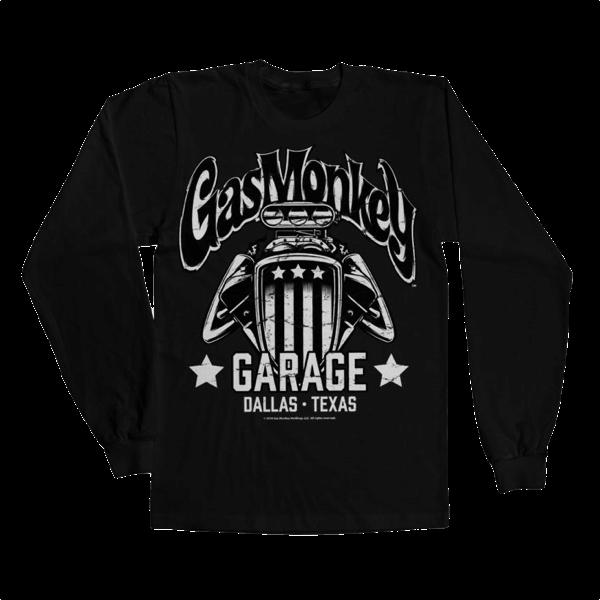 "Gas Monkey Garage Longsleeve ""American Engine"""