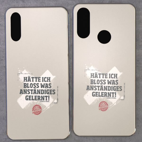 """Steel Buddies Cover """"Gelernt"""" für Huawei Y Modelle"""