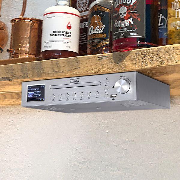 Unterbau Internet u. DAB+ Radio mit CD und Bluetooth®