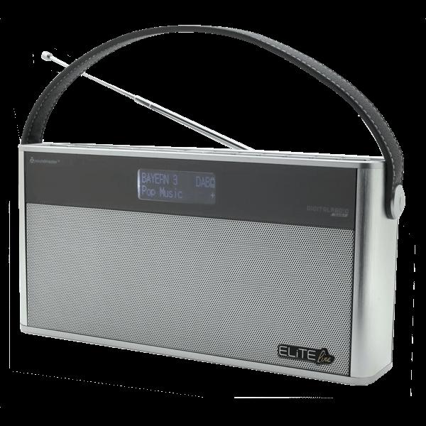 DAB+ Digital-Kofferradio mit Bluetooth und Akku