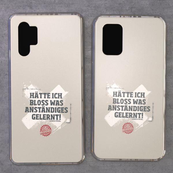 """Steel Buddies Cover """"Gelernt"""" für Samsung Galaxy Note Modelle"""