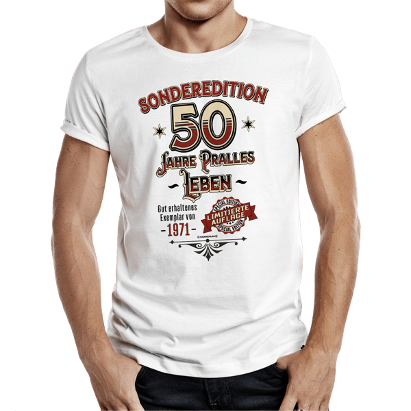 "T-Shirt ""Sonderedition 1971"""