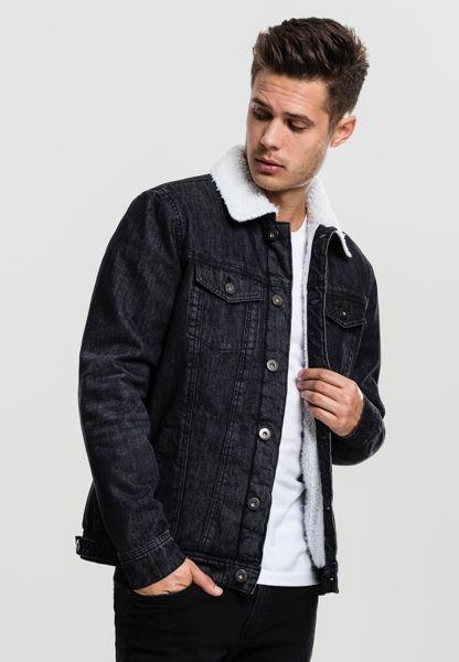 Gefütterte Jeansjacke von Urban Classics