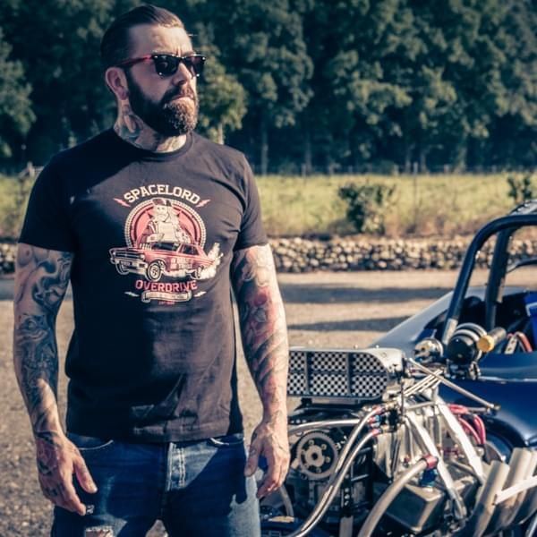 """Lords of Nitromethane T-Shirt """"Spacelord"""""""