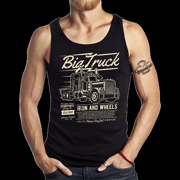 """Tank Top """"Big Truck"""" von Gasoline Bandit"""
