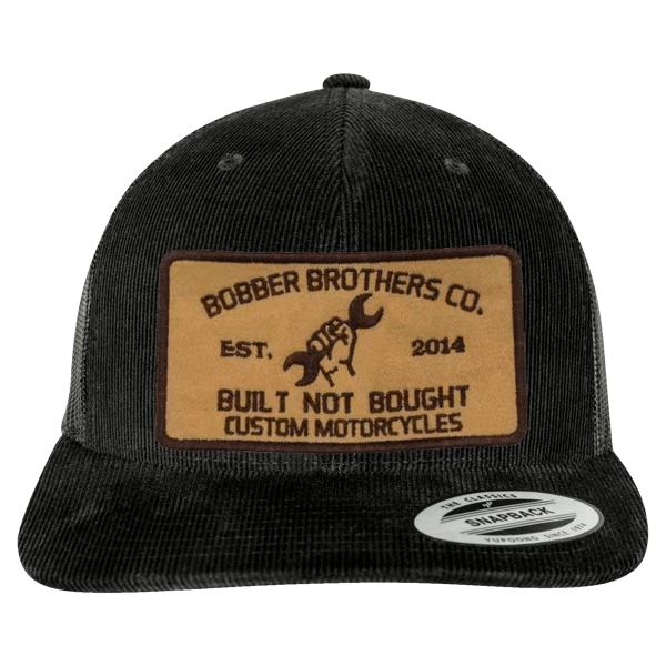 "Trucker-Cap ""Built not Bought"" von Bobber Brothers"