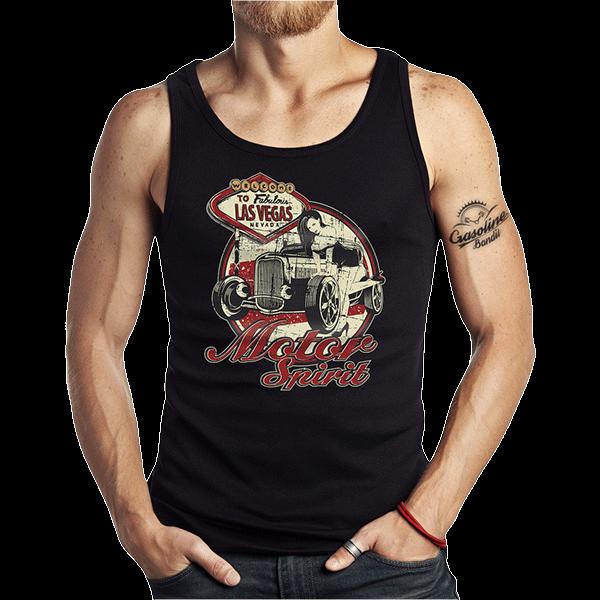 """Tank Top """"Motor Spirit"""" von Gasoline Bandit"""