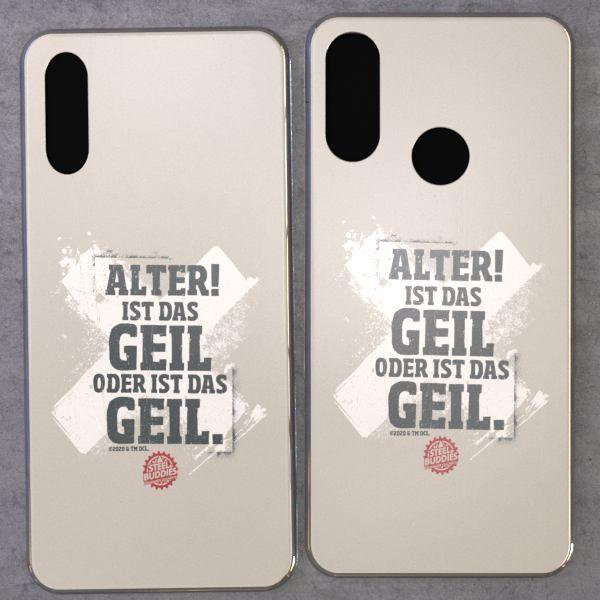 "Steel Buddies Cover ""Geil"" für Huawei Y Modelle"